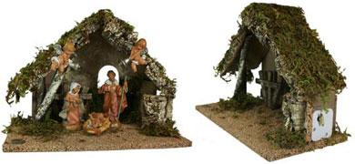 Fontanini 6 Piece Musical Nativity Set
