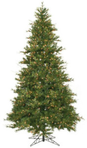 Purchase A 9 ft Slim Pre-lit Mixed Country Pine Christmas Tree Now Online!
