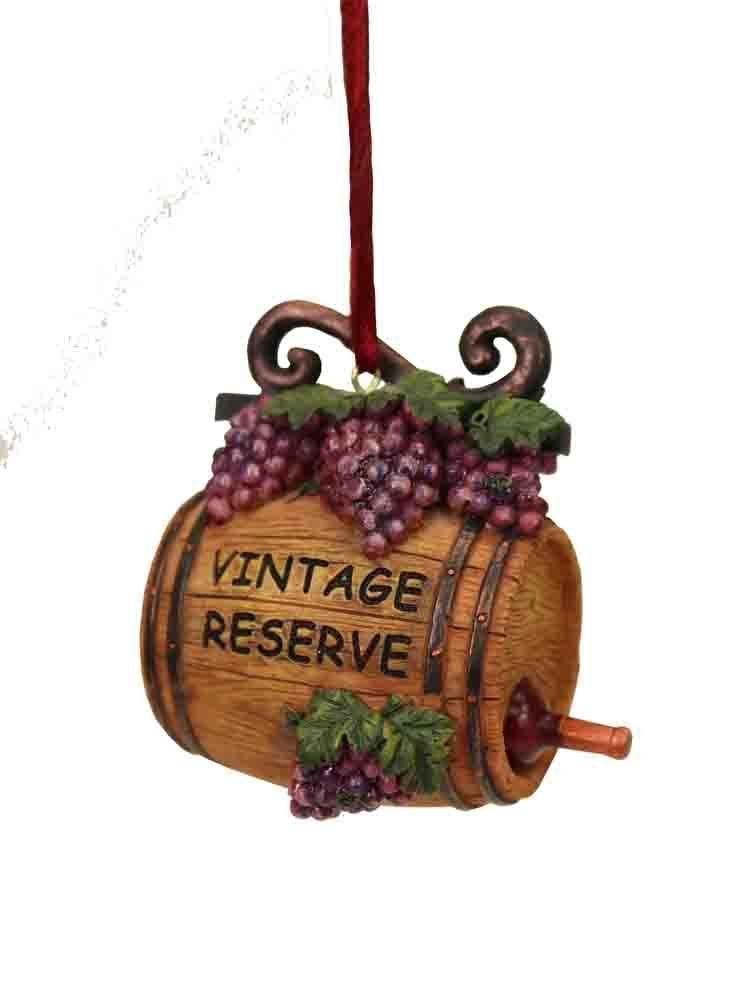 wine barrel decor christmas ornaments