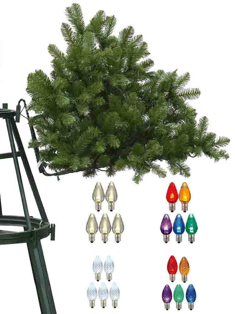 40 To 48 Foot Artificial mercial Trees Grand Teton C 7 LED