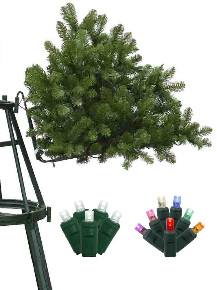 12-18 Foot Tall Christmas Trees Mini LED