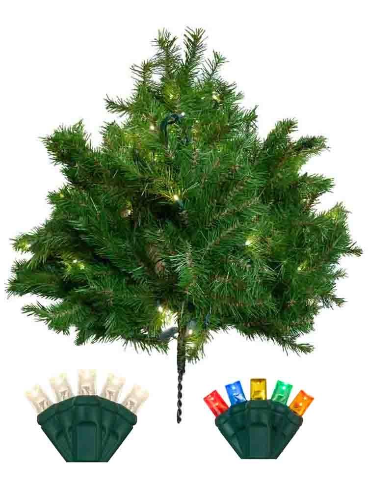 14 Ft Christmas Tree Part - 30: 14 Ft Christmas Tree Prelit M5 LED Giant Everest
