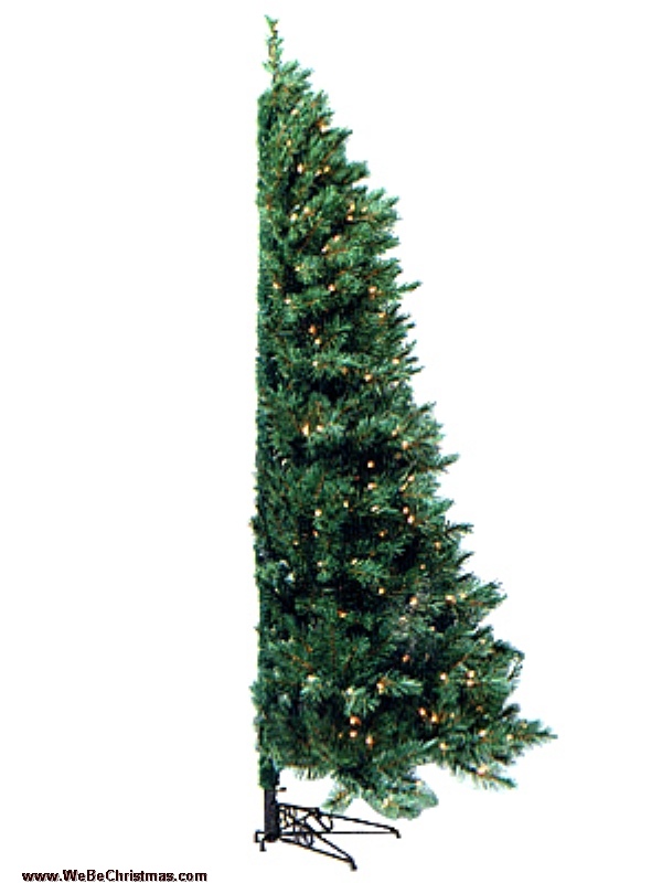 75 ft unlit westbrook corner tree - Corner Christmas Tree