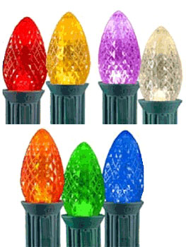 Purchase C7 LED Lights Sets and Christmas Decorations Online!