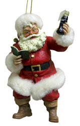 Santa Claus Coca Cola Ornament Christmas Decorations On Sale Today, Online