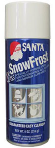 Santa Spray On Snow Frost For Windows And Mirrors Christmas Decorations For Sale Online!