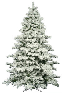 new styles 65cf2 9e1ff Reasons To Buy Flocked Christmas Trees For A Home